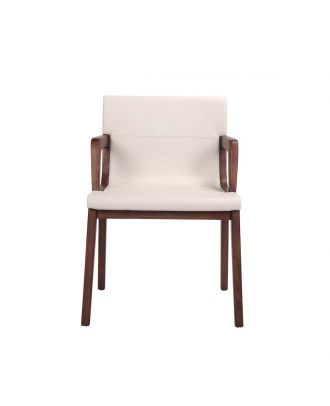 DINING ARM CHAIR LEATHER