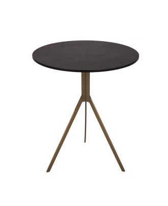 END TABLE- BLACK & GOLD