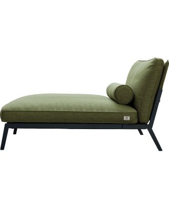 CHAISE FABRIC GREEN