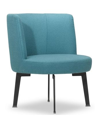 ACCENT CHAIR TURQUOISE