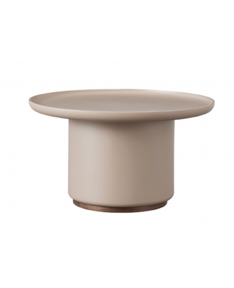 ROUND COFFEE TABLE - GREY
