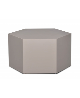 HEX COFFEE TABLE -GREY