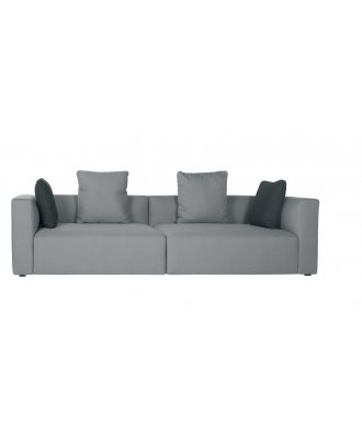LECCO  FOUR SEATER - GREY