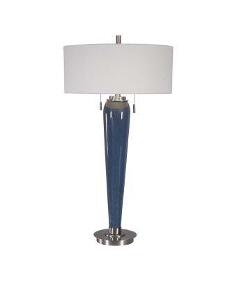 GODFREY TABLE LAMP  BLUE