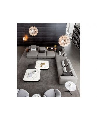 LUCCA SECTIONAL GREY