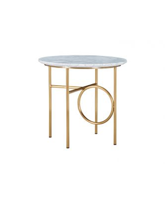 END TABLE - MARBLE TOP