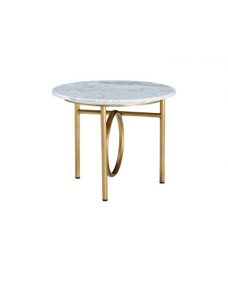 END TABLE- MARBLE TOP