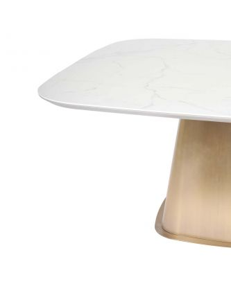 DINING TABLE GOLDEN BASE