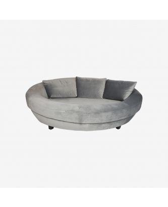 ROUND SOFA (ove seat) GREY