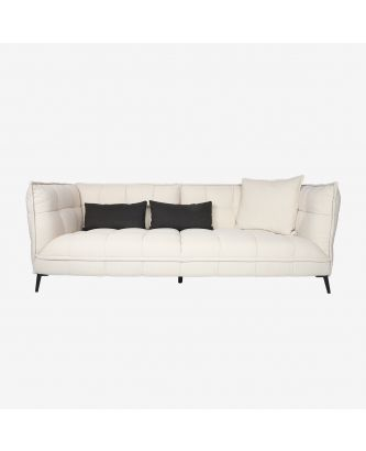 4 SEATER SOFA OFF-WHTE