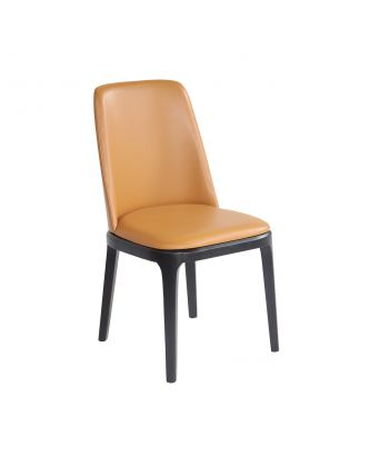 DINING CHAIR (CAMEL)
